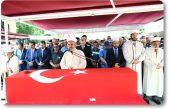 Cumhurbaşkanı Erdoğan, Şırnak'ta şehit olan Albay Peker'in cenaze törenine katıldı