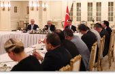 Başbakan Binali Yıldırım, medya temsilcileriyle iftarda bir araya geldi