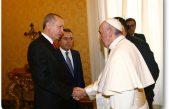 Cumhurbaşkanı Erdoğan, Vatikan Apostol Sarayında