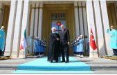 İran Cumhurbaşkanı Ruhani Cumhurbaşkanlığı Külliyesinde