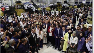 """Cumhurbaşkanı Erdoğan, """"Gençlik ve Teknoloji Buluşması"""" programına katıldı"""