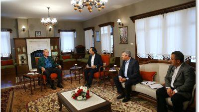 Cumhurbaşkanı Erdoğan, 24 TV ve 360 TV'nin ortak yayınına katıldı