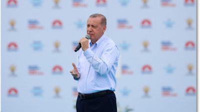 Cumhurbaşkanı Erdoğan, İstanbul Mitinginde konuştu
