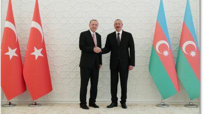 Cumhurbaşkanı Erdoğan, Azerbaycan Zagulba Sarayında