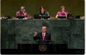 """Cumhurbaşkanı Erdoğan""""BM Güvenlik Konseyi, yaşanan zulümlere seyirci kalan bir yapıya bürünmüştür"""""""