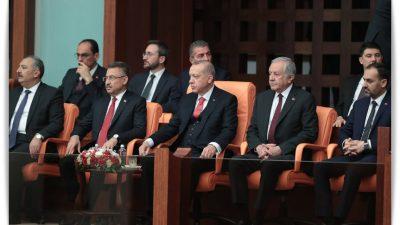 Cumhurbaşkanı Erdoğan, TBMM'de 23 Nisan özel oturumuna katıldı