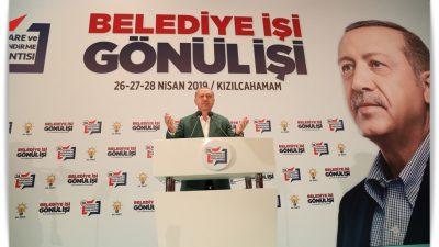"""Cumhurbaşkanı Erdoğan,""""Birlik ve beraberlik içinde olursak karşımızda duracak hiçbir güç yoktur"""""""