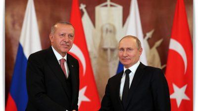 """Cumhurbaşkanı Erdoğan""""Millî güvenliğimize kasteden terör odaklarını Suriye'den söküp atmakta kararlıyız"""""""