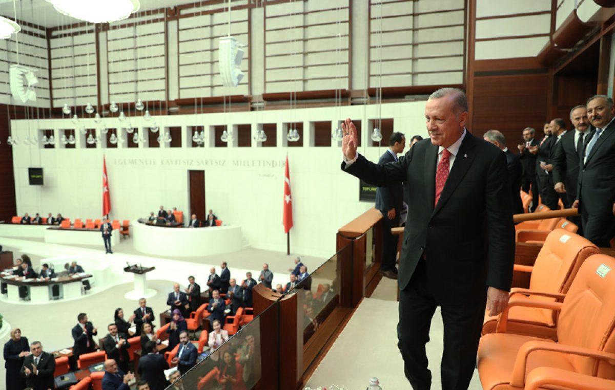 Cumhurbaşkanı Erdoğan, TBMM Genel Kurulunda düzenlenen özel oturuma katıldı
