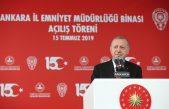 Cumhurbaşkanı Erdoğan, Ankara Emniyet Müdürlüğü Yeni Binası Açılış Töreni'ne Katıldı