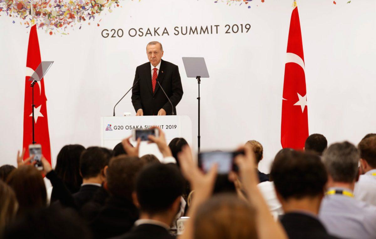 """Cumhurbaşkanı Erdoğan""""G-20 platformu, küresel meselelerin çözümünde daha etkin ve güçlü bir mecra olmalı"""""""
