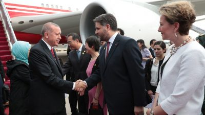 Çin | Cumhurbaşkanı Erdoğan, Çin Halk Cumhuriyeti'nde
