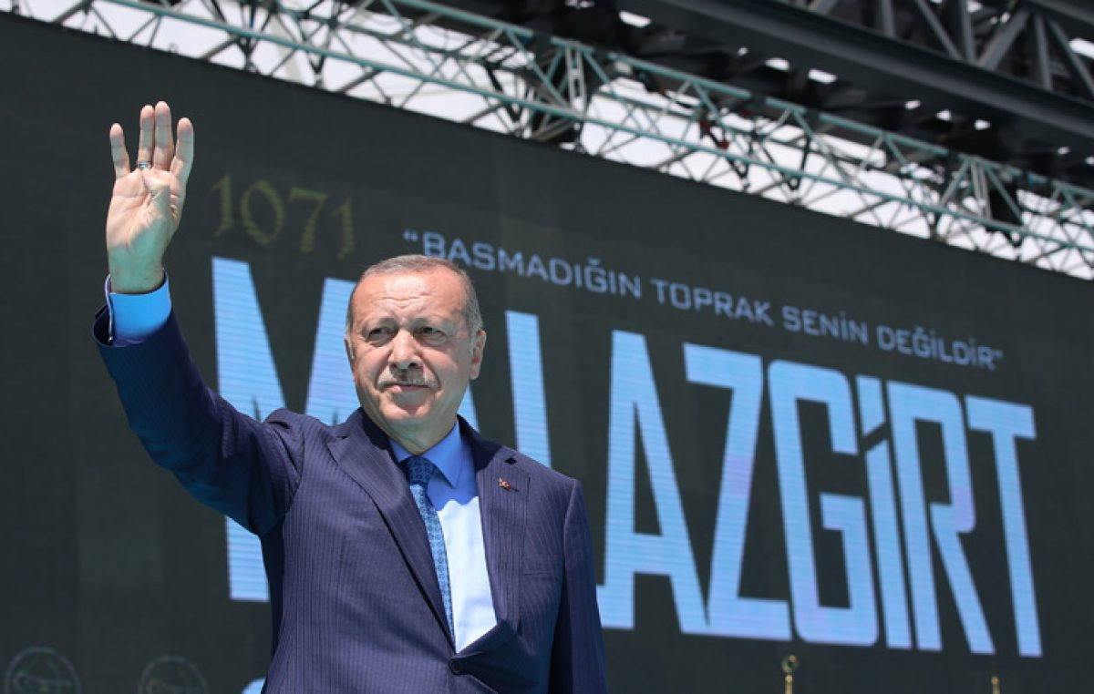 Cumhurbaşkanı Erdoğan, Malazgirt Zaferi'nin 948. Yıl Dönümü Kutlama Programı'nda halka hitap etti
