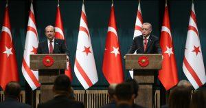 """Cumhurbaşkanı Erdoğan,""""Doğu Akdeniz'de Türkiye'yi ve Kuzey Kıbrıs Türk Cumhuriyeti'ni yok sayan hiçbir proje hayata geçirilemez"""""""
