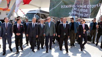 Cumhurbaşkanı Erdoğan, Bursa Şehir Hastanesi ve İstanbul-İzmir Otoyolu Ortak Açılış Töreni'nde konuştu