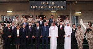 """Cumhurbaşkanı Erdoğan,""""Katar'ın güvenliğini, ülkemizin güvenliğinden ayrı tutmuyoruz"""""""
