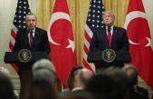 Cumhurbaşkanı Recep Tayyip Erdoğan ve ABD Başkanı Donald Trump, Beyaz Saray'da ortak basın toplantısı düzenledi.