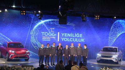 """Cumhurbaşkanı Erdoğan,""""Türkiye'nin otomobili projesindeki teknoloji birikimimiz, diğer pek çok sektörün de ateşleyicisi olacaktır"""""""