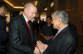 Cumhurbaşkanı Erdoğan, Malezya Başbakanı Muhammed ile görüştü