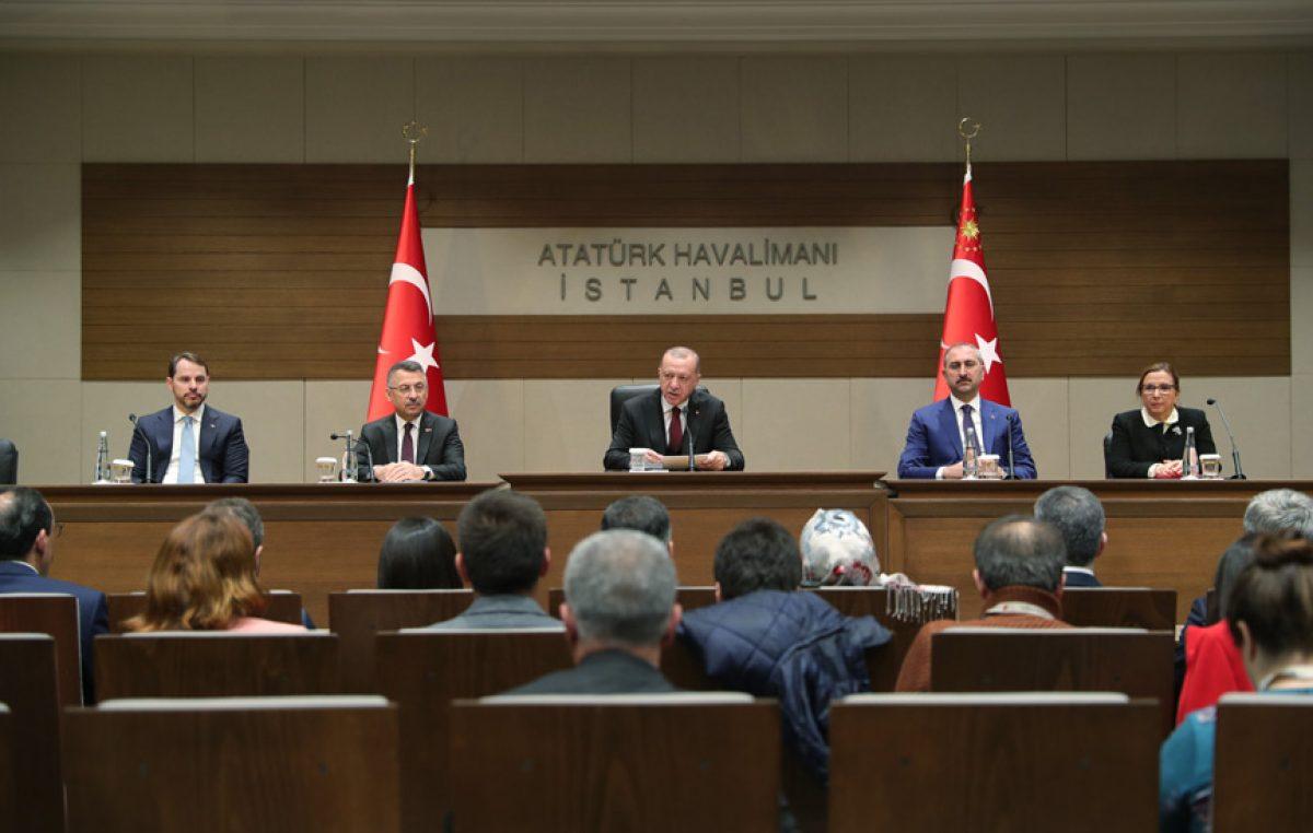 """Cumhurbaşkanı Erdoğan,""""İdlib'deki saldırının cevabını misliyle verdik, vermeye devam edeceğiz"""""""