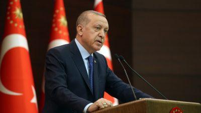 """Cumhurbaşkanı Erdoğan, """"Ülkemizin maruz kaldığı virüs tehdidinin en kısa sürede bertaraf edilmesi için devlet olarak tüm imkânlarımızı seferber ettik"""""""