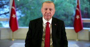 """Cumhurbaşkanı Erdoğan, """"Her vatandaşımızın canı bizim için aynı derecede değerlidir, bunun için 'Evde kal Türkiye' diyoruz"""""""