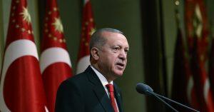 """Cumhurbaşkanı Erdoğan,""""Türk Milleti tüm imkânlarıyla Azerbaycanlı kardeşlerinin yanındadır"""""""
