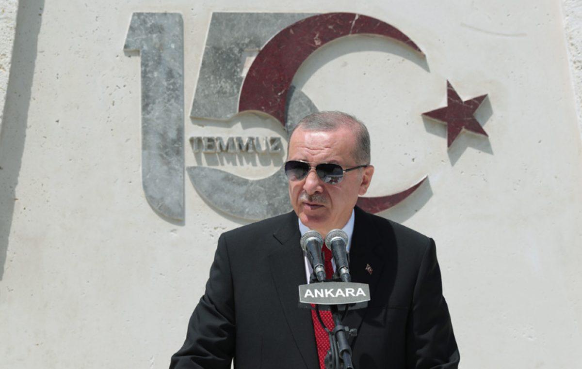 """Cumhurbaşkanı Erdoğan,""""Dünyada gazi unvanını bu kadar hak eden ve hakkıyla taşıyan başka bir Meclis bilmiyorum"""""""