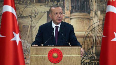 """Cumhurbaşkanı Erdoğan: """"Türkiye, tarihinin en büyük doğal gaz keşfini Karadeniz'de gerçekleştirdi"""""""