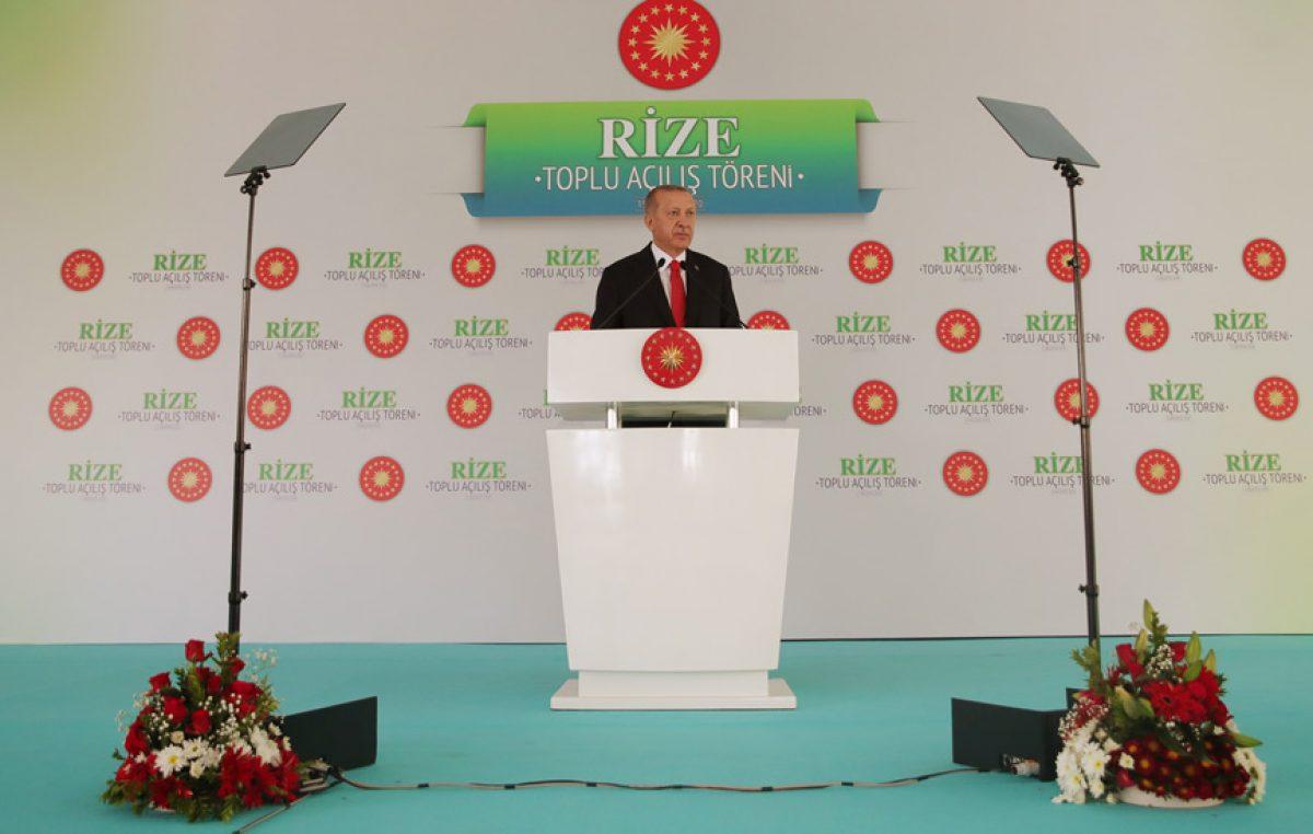 """Cumhurbaşkanı Erdoğan,""""Doğu Akdeniz'de, Libya'da, Ege'de haklarımızı sonuna kadar korumaya odaklandık"""""""