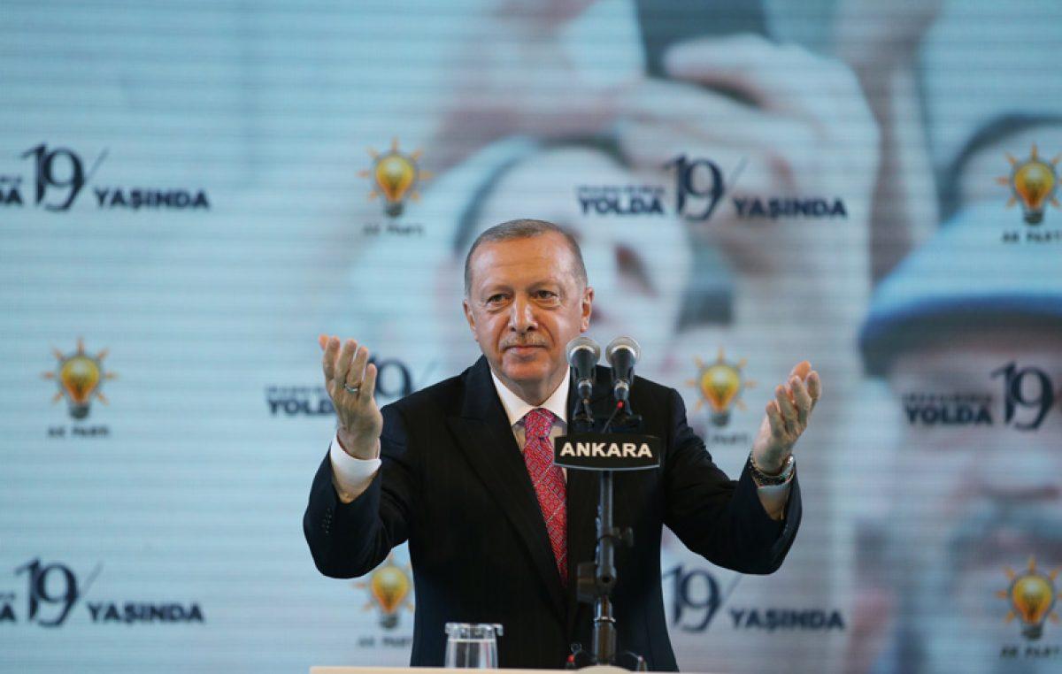 """""""2023 hedeflerimize, 2053 ve 2071 vizyonumuza uygun bir Türkiye'yi milletçe el ele inşa edeceğiz"""""""