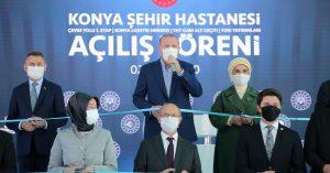 Dev Yatırımlar | Cumhurbaşkanı Erdoğan, Konya Şehir Hastanesi Açılış Töreni'nde konuştu